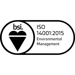 BSI logo - bsi ISO 14001:2015 Environmental Management