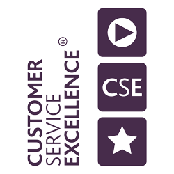 Customer Service Excellent accreditation logo
