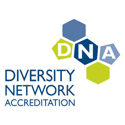 DNA logo - Diversity Network Accreditation